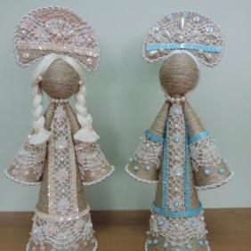 Славянские обрядовые куклы-обереги купить в интернет магазине Велес