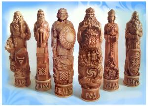 Родные Боги, набор из 6 кумиров