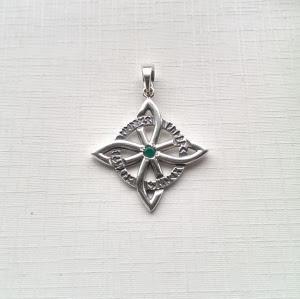 """Амулет """"Кельтский крест"""" в руническом круге"""