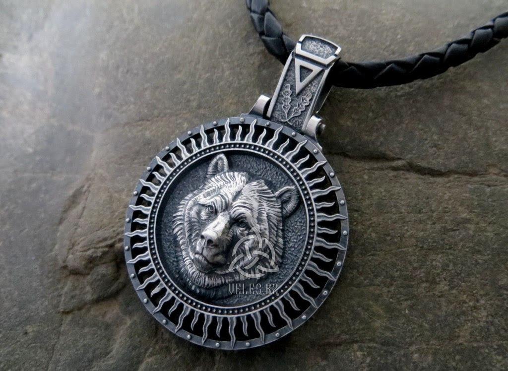 амулет велеса серебро купить