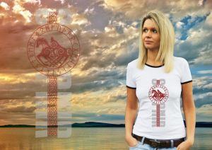 "Футболка женская ""Легенда об Одине"""