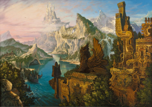 "Картина из серии ""Атлантида"""