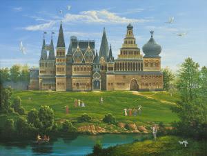 "Картина ""Коломенский дворец"""