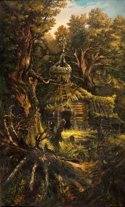 """Картина """"Святилище леса"""""""