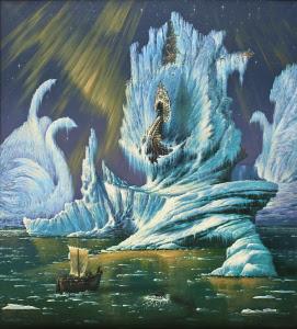 "Картина ""Таинственный студеный океан"""