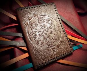 """Обложка для паспорта с """"Кельтскими узлами"""""""