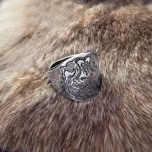 """Перстень """"Волки"""""""