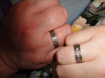 Обручальные кольца для Александра и Валерии