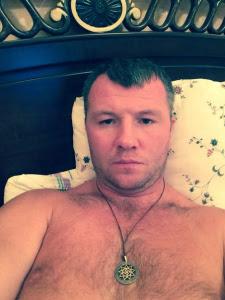 """Оберег """"Благовестник"""" носит Андрей Гоголев, чемпион мира по боксу 2001 г."""