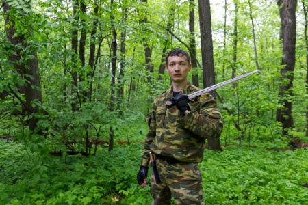 Меч был выкован нашим оружейником Дмитрием Китоврасом