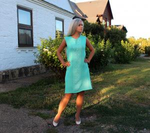 Платье вязаное №7