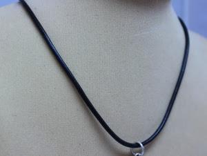 Шнур гладкий 3 мм (кожа+сребро)