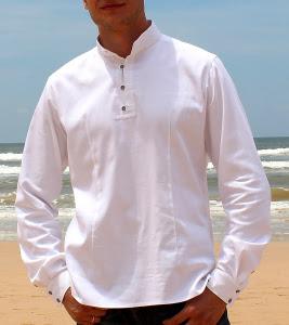 Сорочка с обережной вышивкой